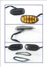 LED indicators fairing Suzuki GSXR 600 750 smoked 11S